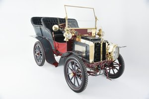 1903 Darracq 12hp Twin-cylinder Swing–seat Tonneau