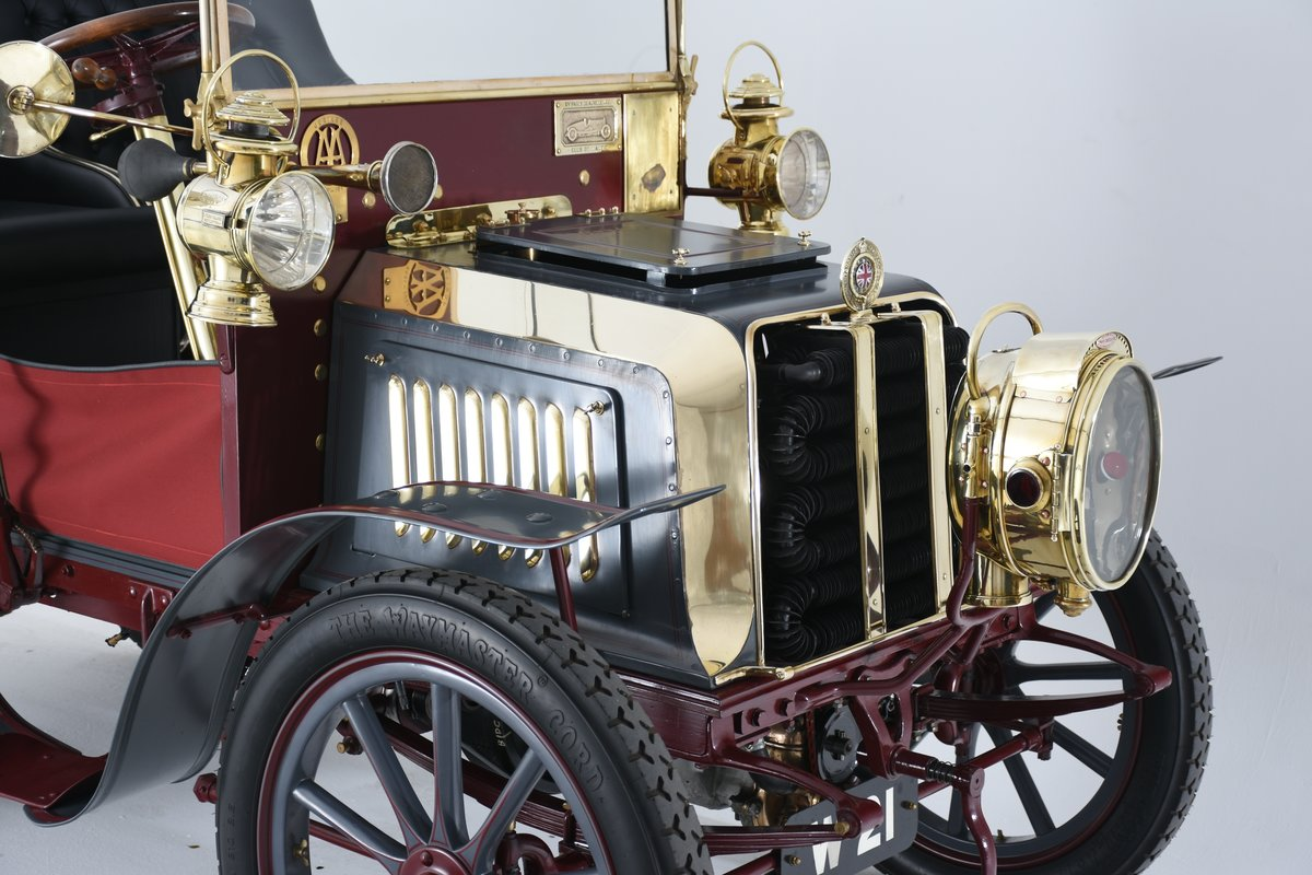 1903 Darracq 12hp Twin-cylinder Swing–seat Tonneau For Sale (picture 2 of 10)