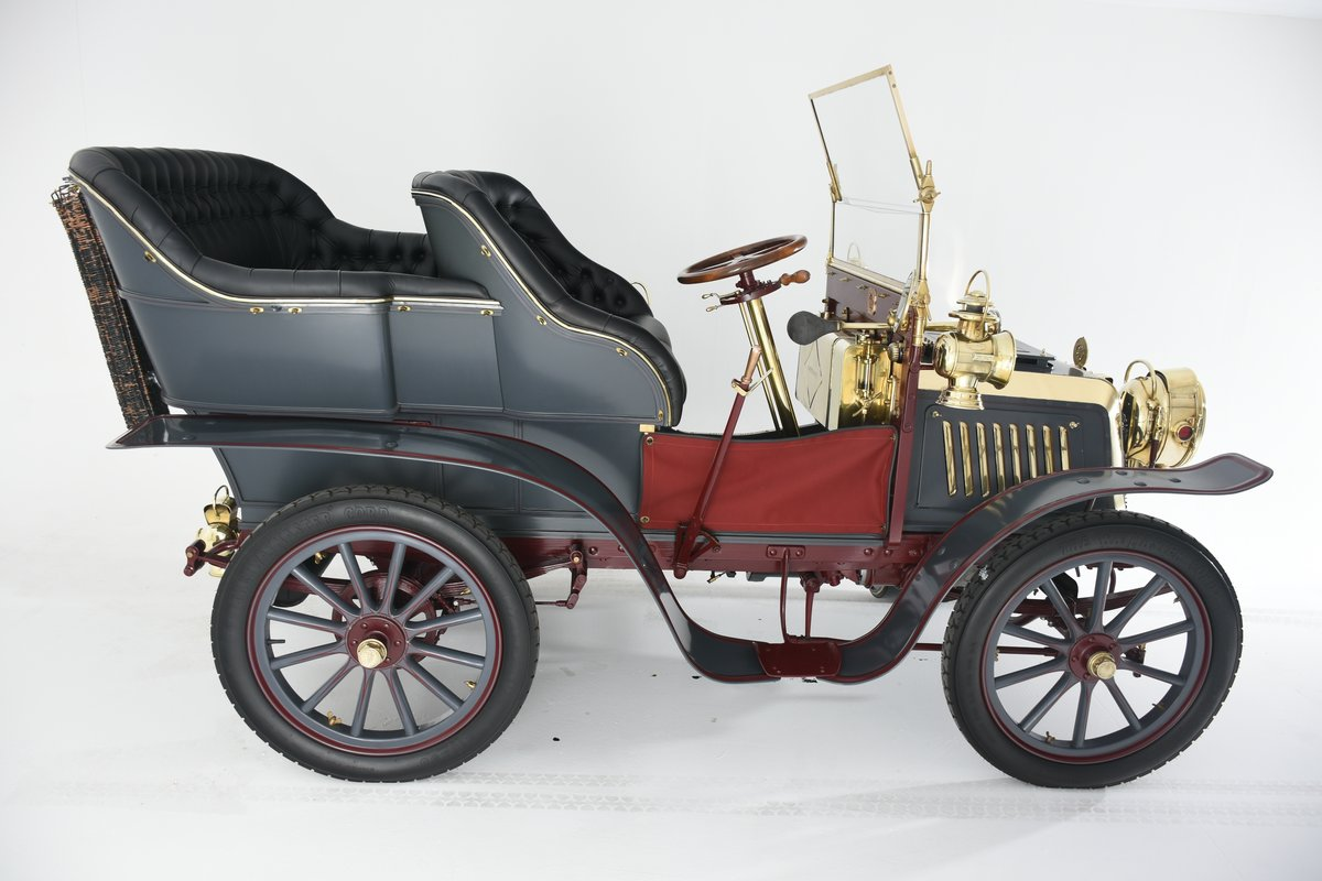 1903 Darracq 12hp Twin-cylinder Swing–seat Tonneau For Sale (picture 4 of 10)