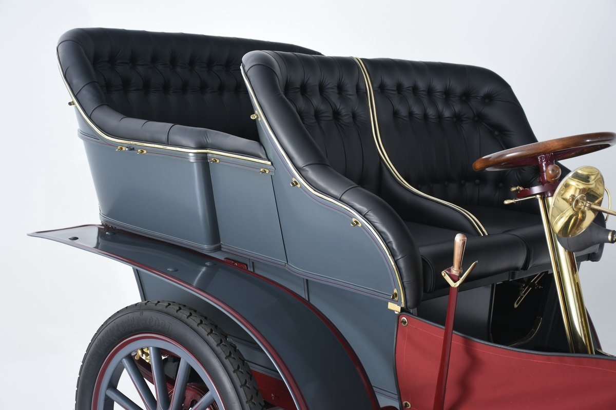 1903 Darracq 12hp Twin-cylinder Swing–seat Tonneau For Sale (picture 5 of 10)