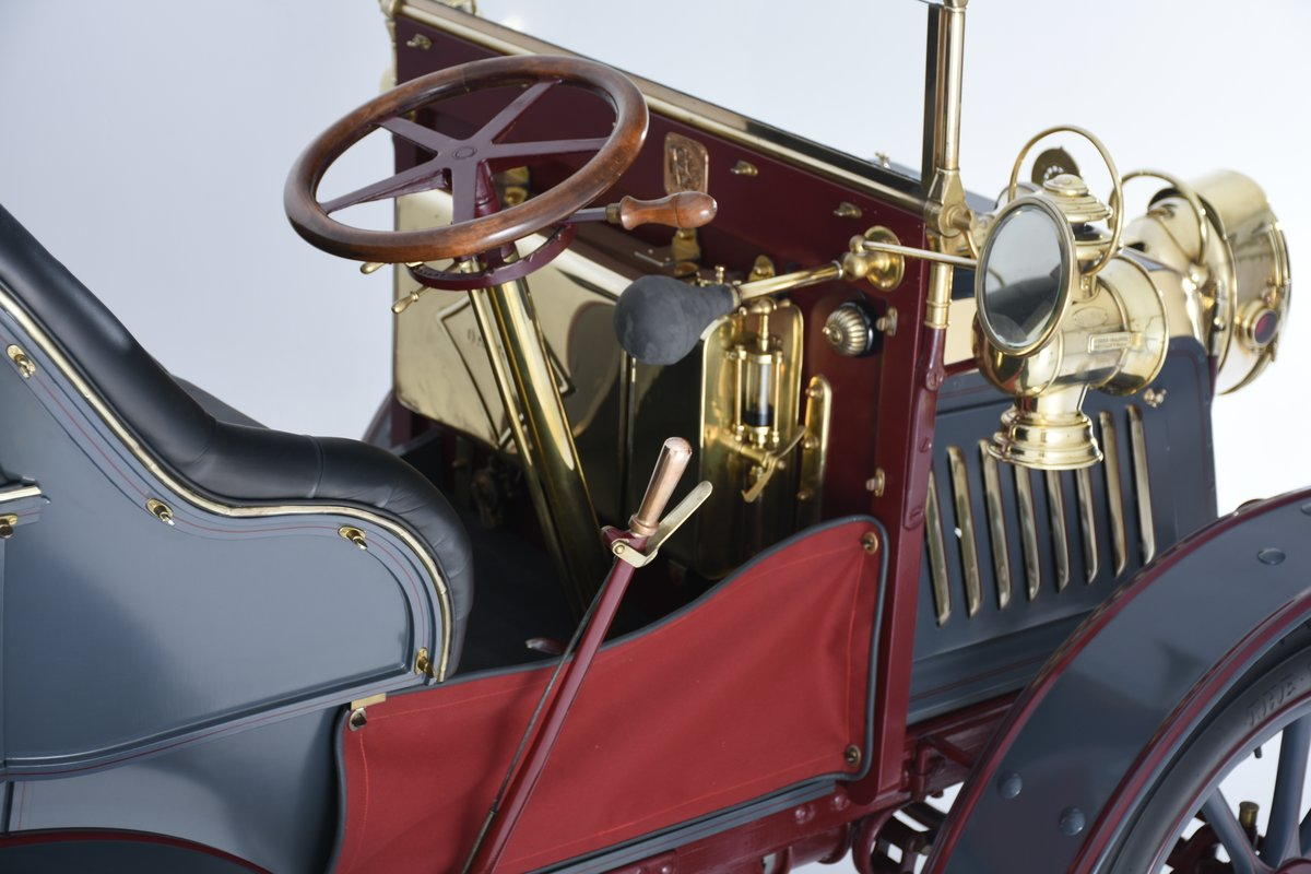 1903 Darracq 12hp Twin-cylinder Swing–seat Tonneau For Sale (picture 6 of 10)