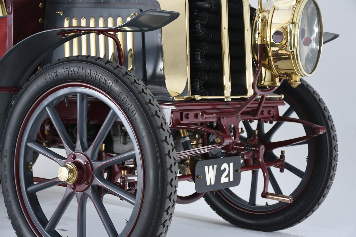 1903 Darracq 12hp Twin-cylinder Swing–seat Tonneau For Sale (picture 10 of 10)