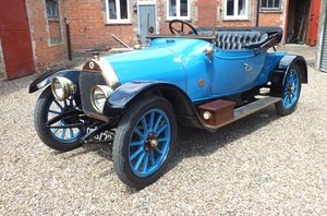 1914 A lovely and very original Edwardian Darracq 16 hp For Sale