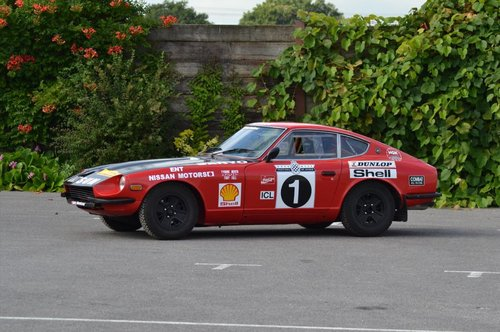1972 Datsun 240Z ex Tony Fall Historic Rally Car SOLD (picture 1 of 6)
