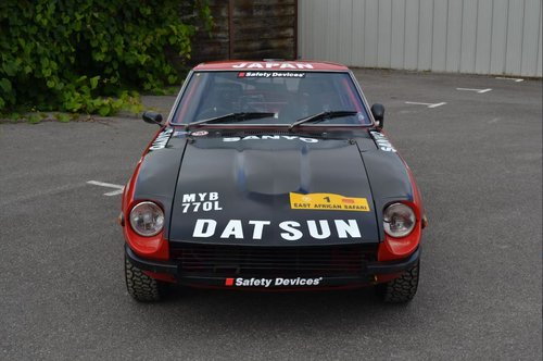 1972 Datsun 240Z ex Tony Fall Historic Rally Car SOLD (picture 2 of 6)