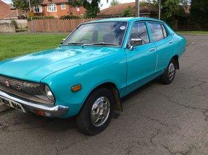 Datsun 120y turquoise 1976