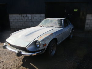 1974 Datsun 260z LHD Restoration Project Matching Numbers SOLD