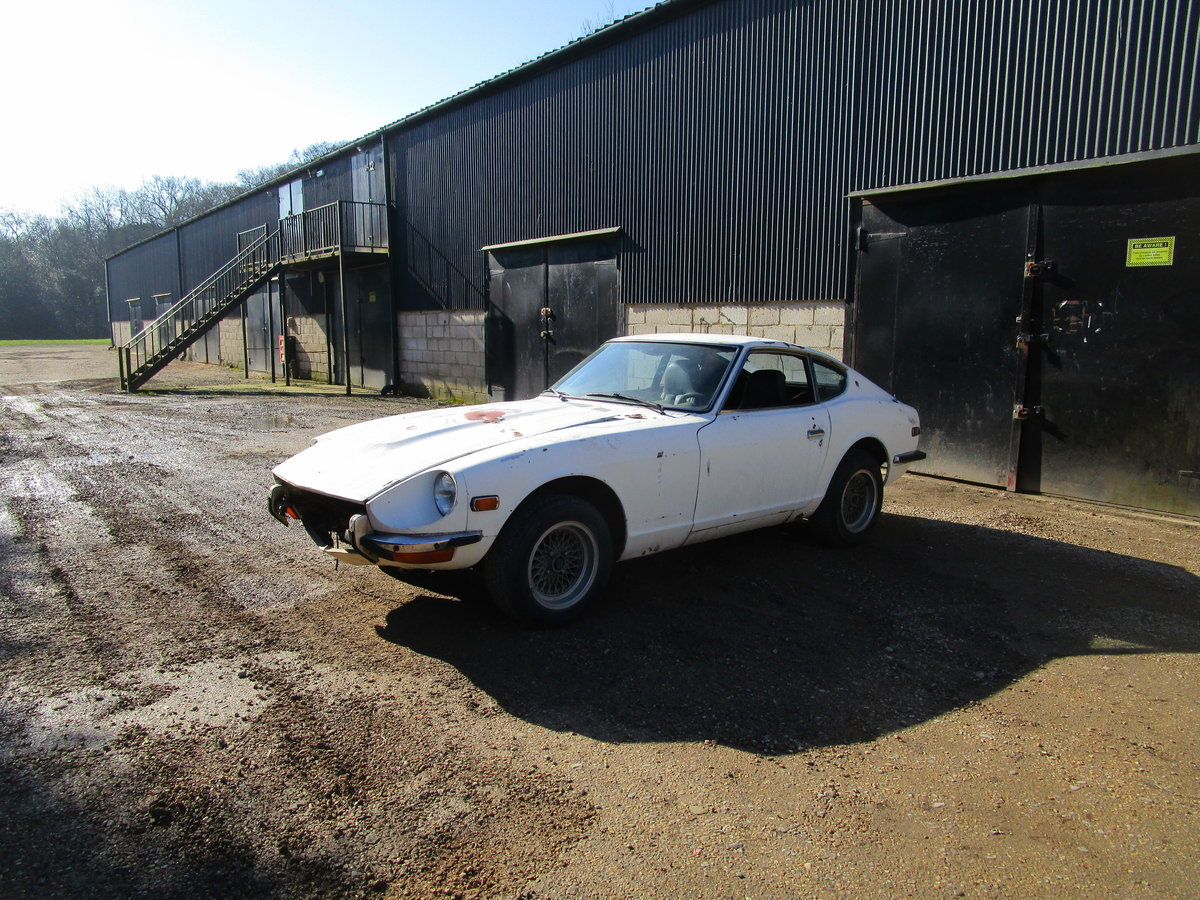 Datsun 240z 1973 LHD Restoration Project For Sale (picture 1 of 6)