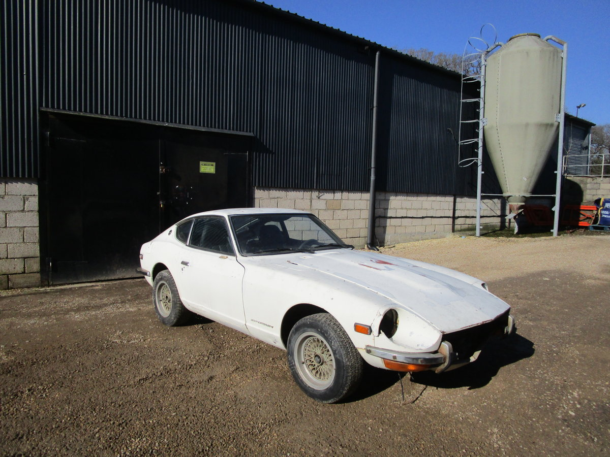 Datsun 240z 1973 LHD Restoration Project For Sale (picture 3 of 6)