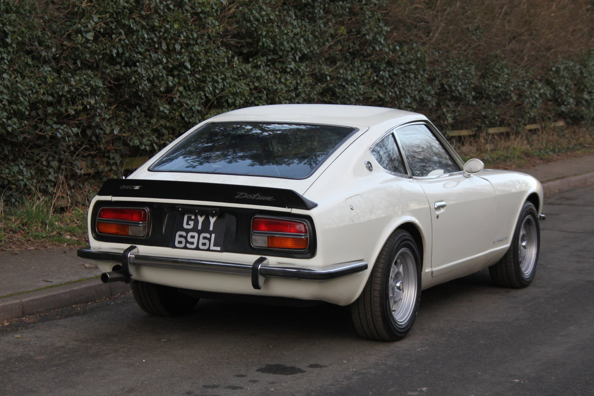 1972 Datsun 240Z, Original RHD, Manual SOLD (picture 4 of 12)