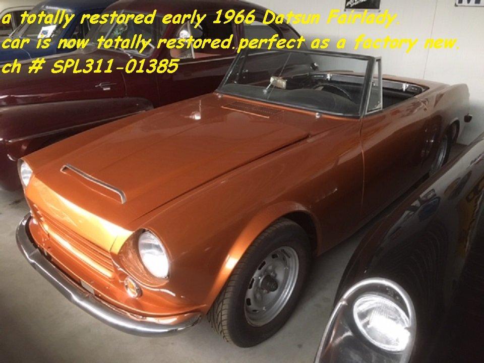 1966 Datsun Fairlady 1600 '66 (restored!) For Sale (picture 5 of 6)