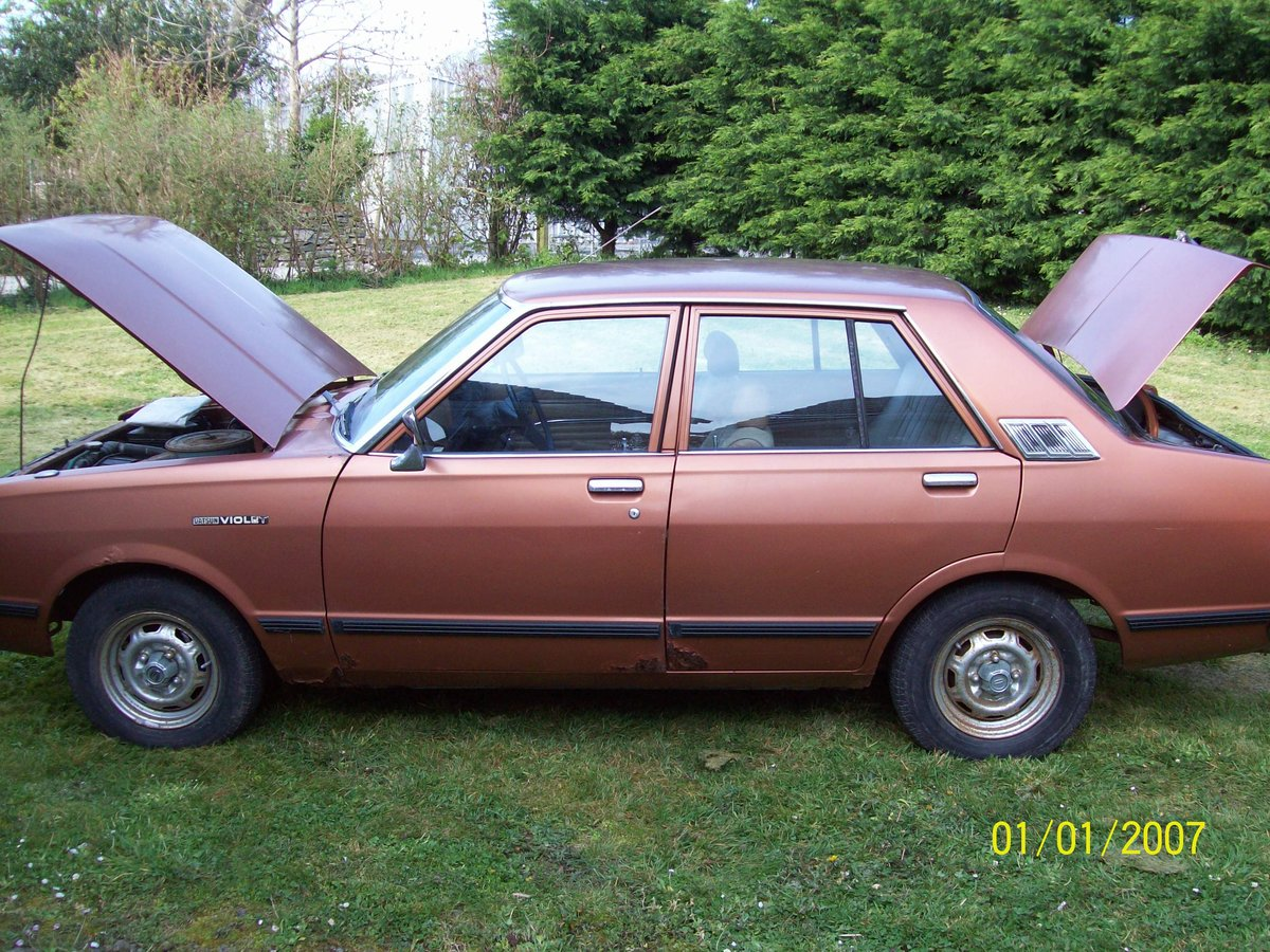 1981 DATSUN VIOLET For Sale (picture 1 of 6)