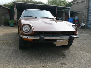 1974 datsun 260z sports lhd running project. For Sale