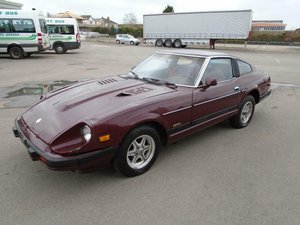DATSUN 280ZX SWB 5 SPEED LHD(1982)MET RED 99% RUSTFREE SOLD