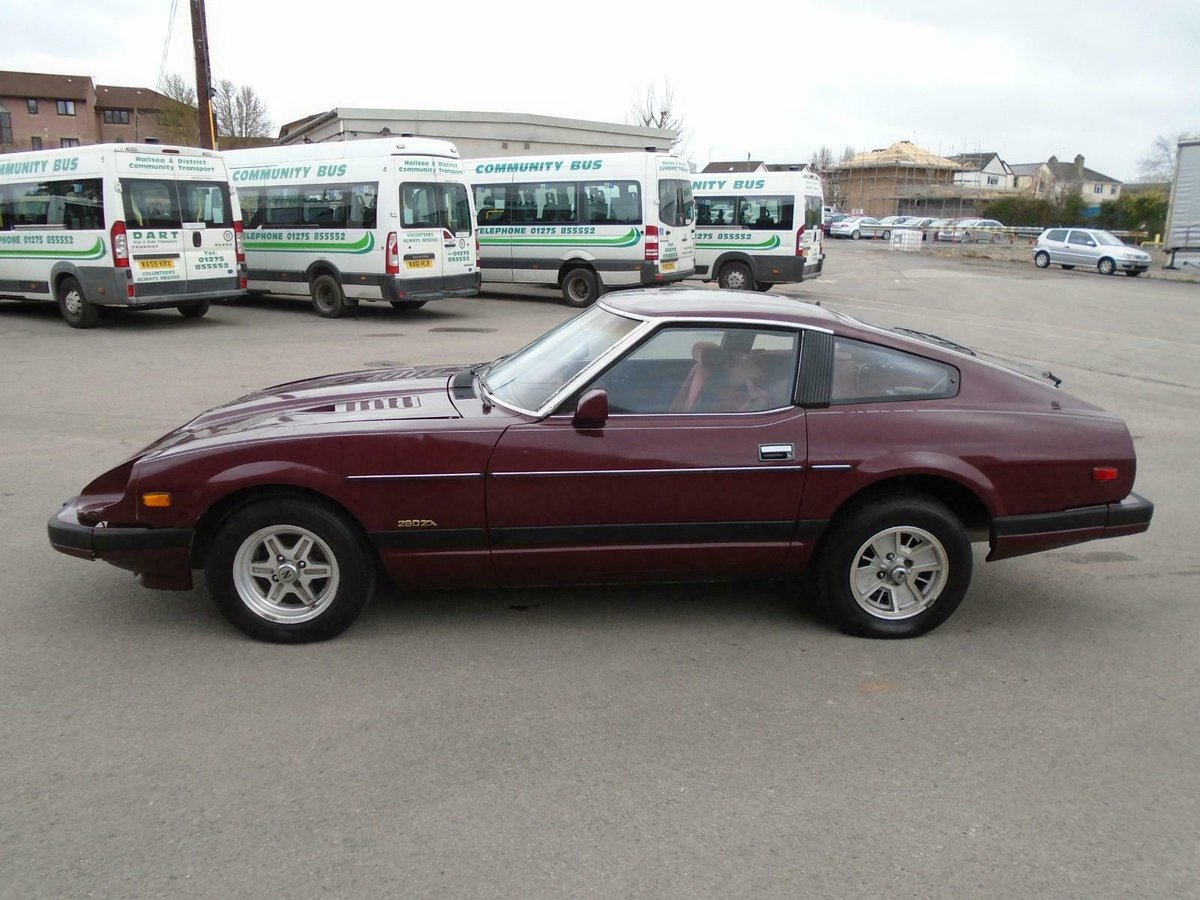 DATSUN 280ZX SWB 5 SPEED LHD(1982)MET RED 99% RUSTFREE For Sale (picture 2 of 6)