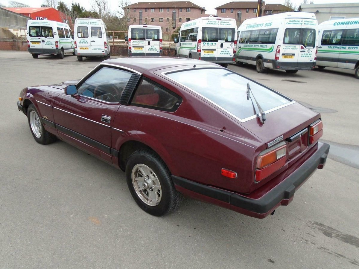 DATSUN 280ZX SWB 5 SPEED LHD(1982)MET RED 99% RUSTFREE For Sale (picture 3 of 6)