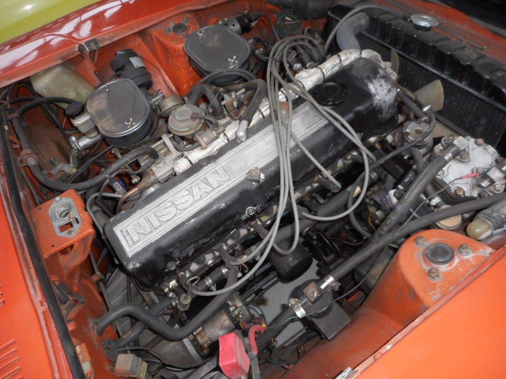 1973 Datsun 240Z orange '73 For Sale (picture 4 of 6)
