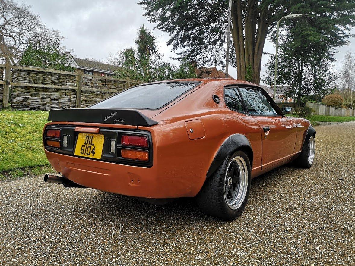1978 Datsun 260z S30 UK RHD Manual RestoMod Orange SOLD (picture 3 of 6)