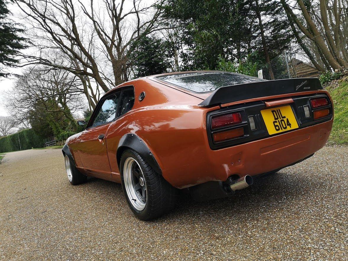 1978 Datsun 260z S30 UK RHD Manual RestoMod Orange SOLD (picture 4 of 6)
