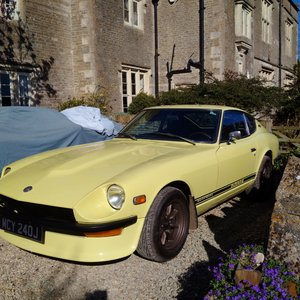 1971 Genuine, original Datsun 240Z, 2 owners from new