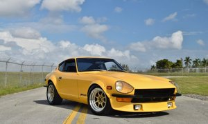 1973 Datsun 240Z Coupe = Manual Yellow Many Mods $29.5k For Sale