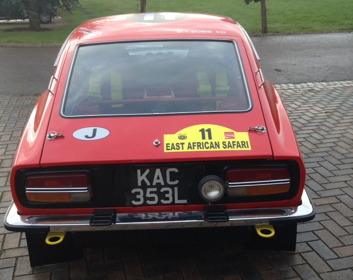 Datsun 240Z East African rally car For Sale by Auction (picture 2 of 6)