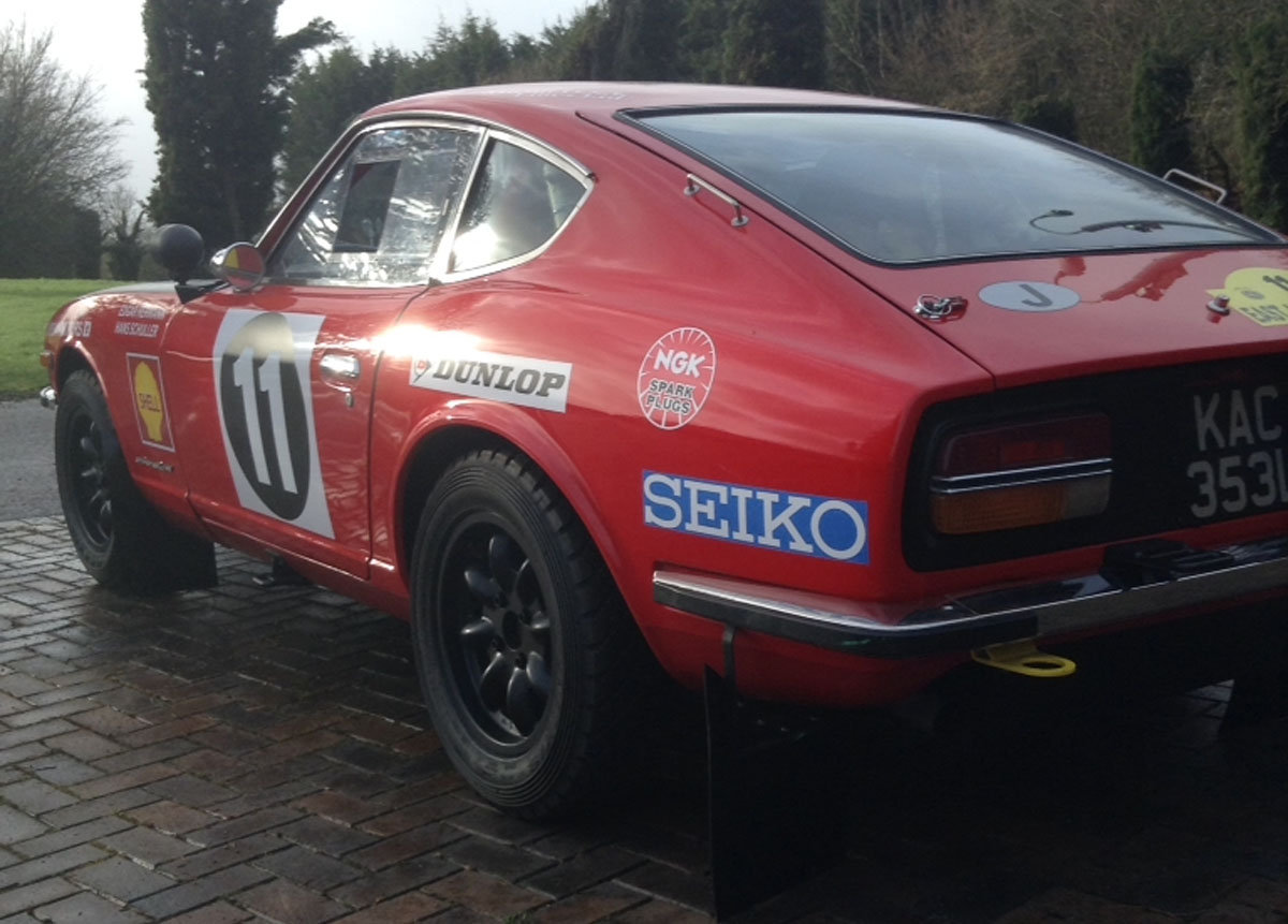 Datsun 240Z East African rally car For Sale by Auction (picture 3 of 6)