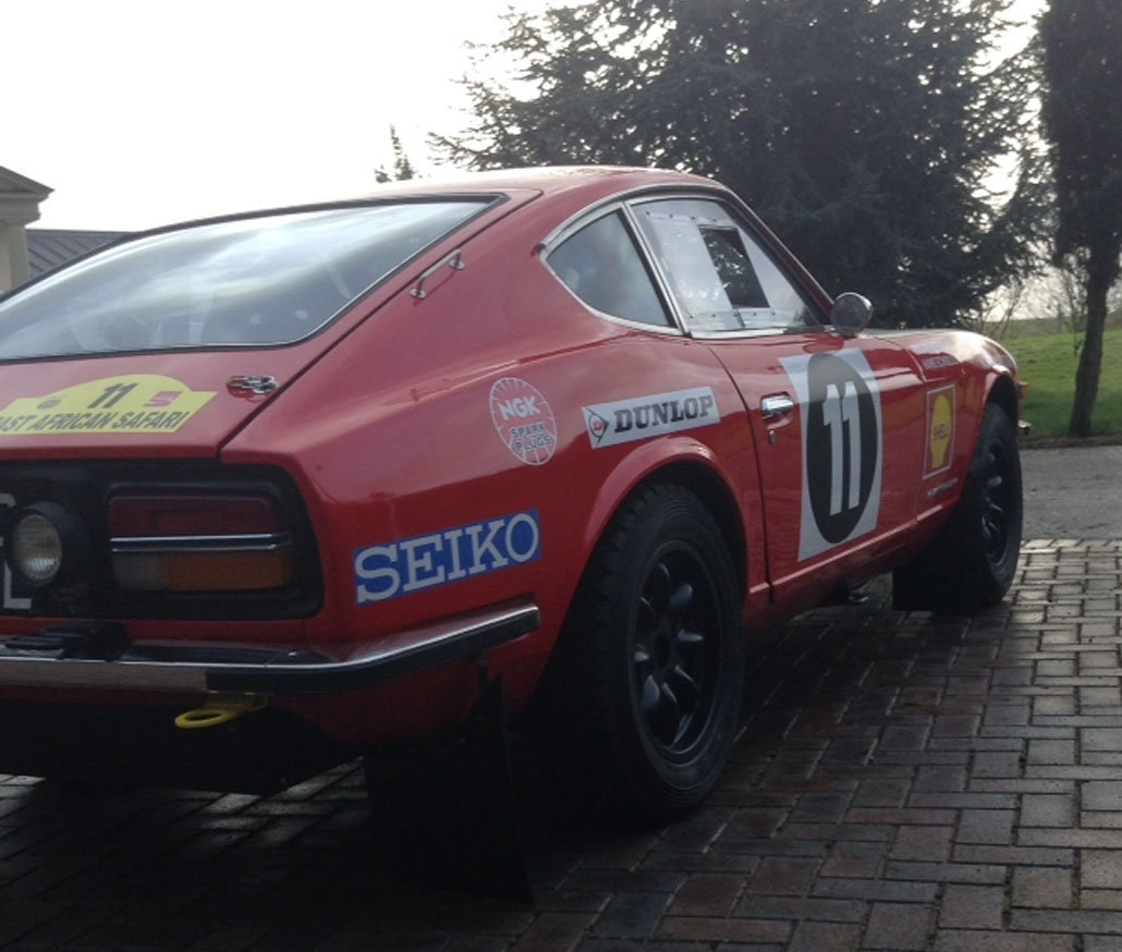 Datsun 240Z East African rally car For Sale by Auction (picture 4 of 6)