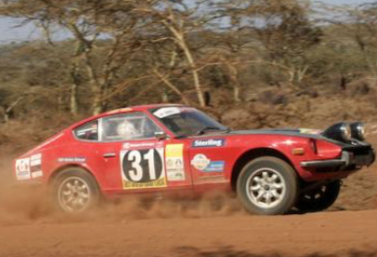 Datsun 240Z East African rally car For Sale by Auction (picture 6 of 6)