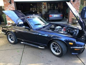 1970 Datsun 240Z =Convertible Fast Custom 302 5 speed Blue $45k   For Sale
