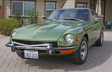 1973 Datsun 240 = Go Jade Green(~)Ginger Auto driver $19.9k For Sale