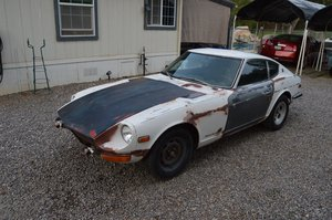 1973  Datsun 240Z = Project Drives White Manual AC  $5.9k For Sale