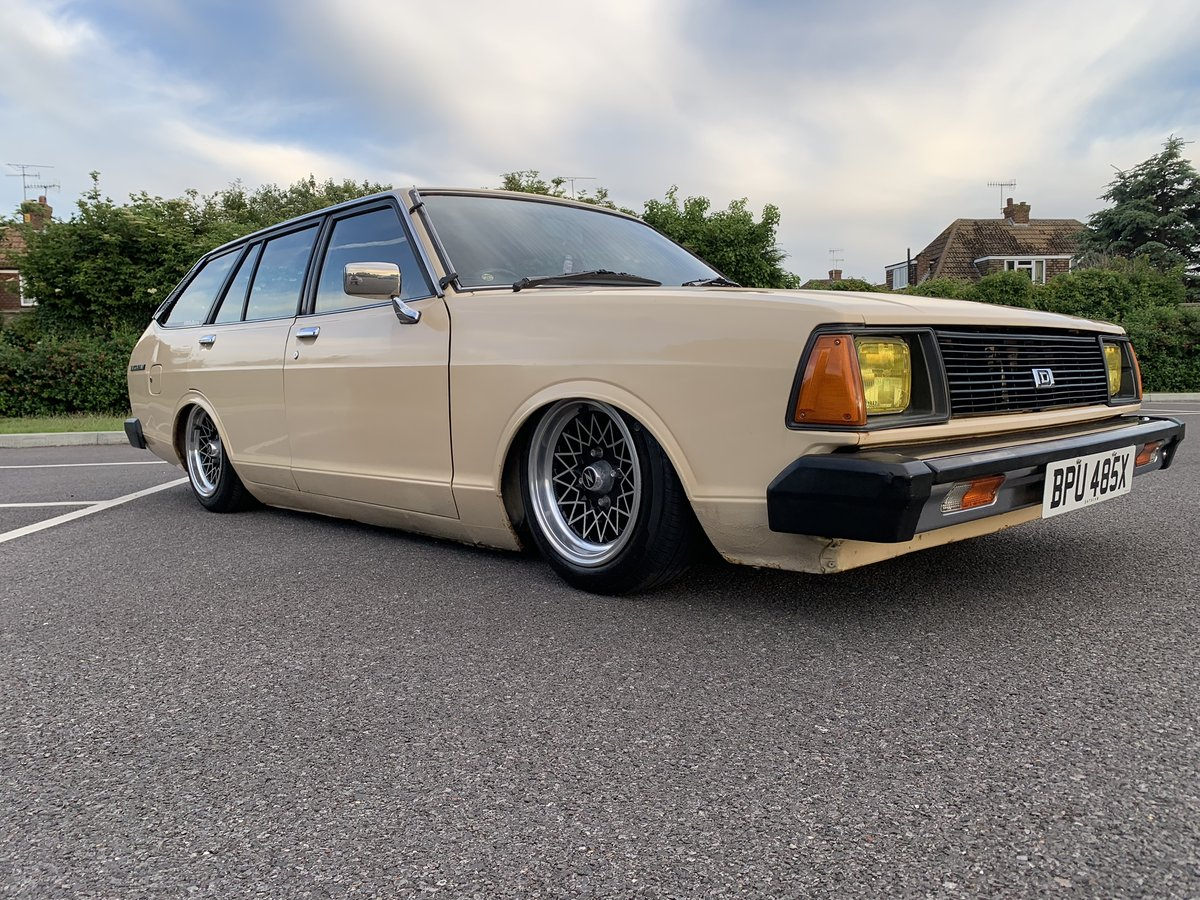 1982 Datsun sunny estate fastback on Hydraulics For Sale (picture 1 of 6)