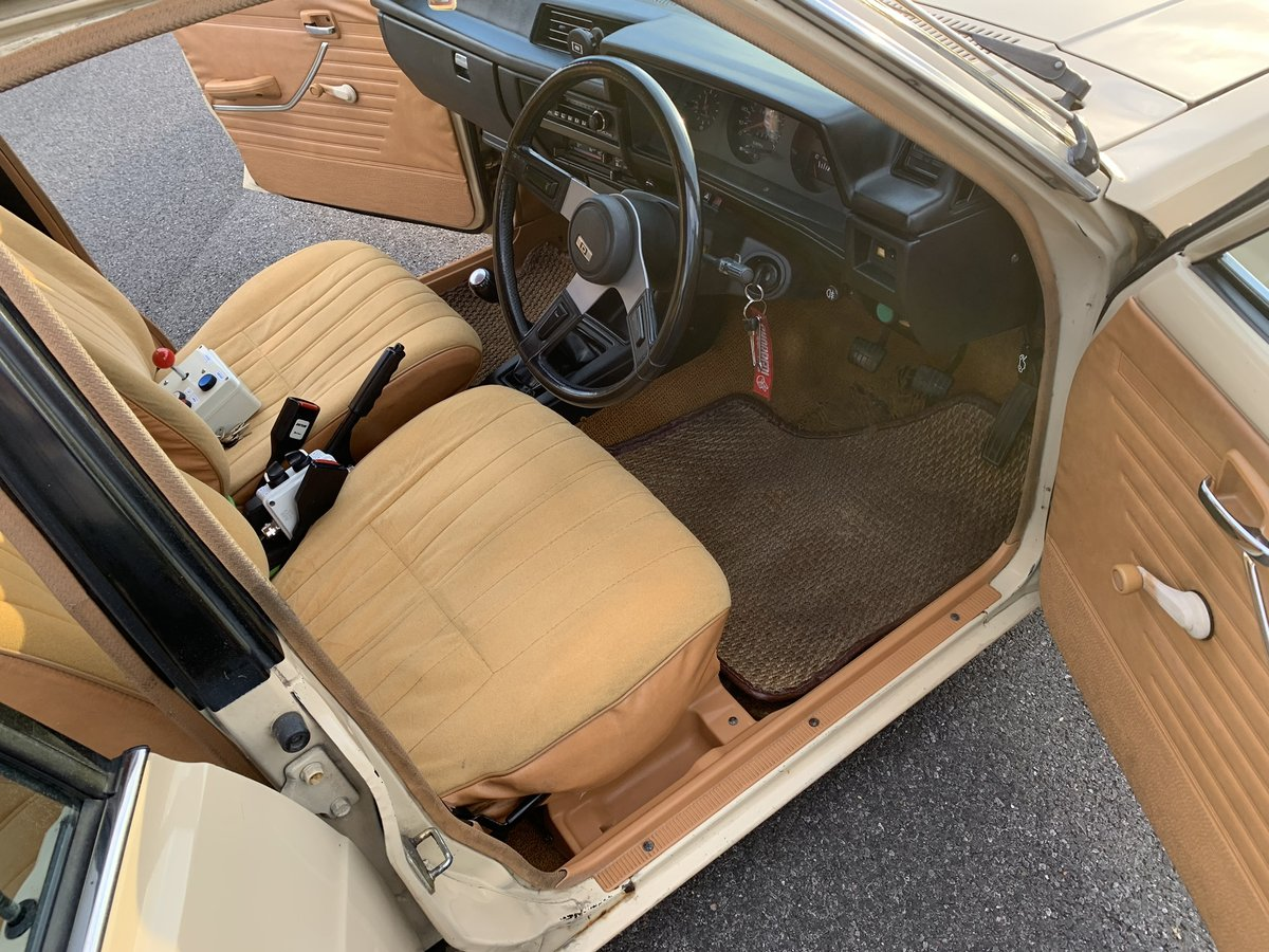 1982 Datsun sunny estate fastback on Hydraulics For Sale (picture 4 of 6)