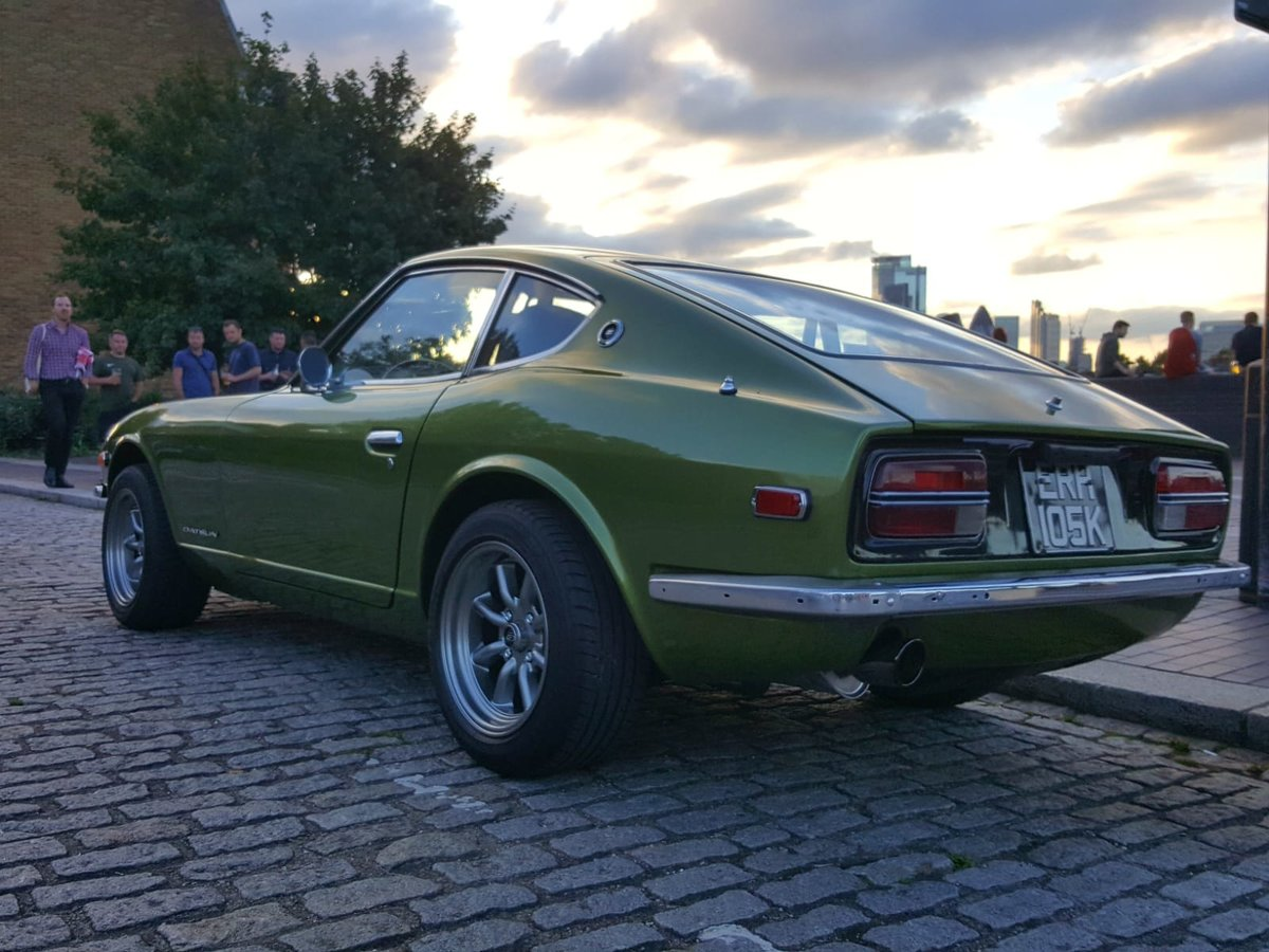 1972 Datsun 240z Metallic Racing green For Sale (picture 1 of 6)