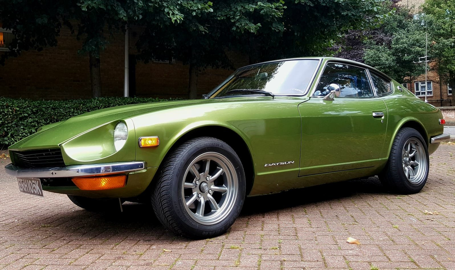 1972 Datsun 240z Metallic Racing green For Sale (picture 2 of 6)
