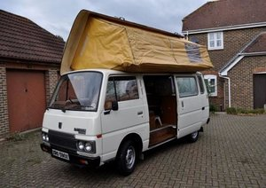 1981 Spacious Datsun (Nissan) Urvan. Sleeps 6. For Sale