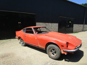 Datsun 240z 1972 Restoration Project