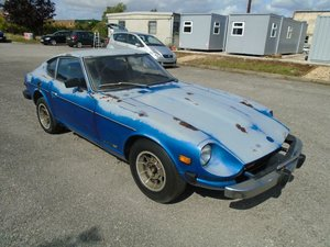 DATSUN 280Z LHD 5 SPEED SWB COUPE(1976)MET BLUE! 1 OWNER 47K SOLD