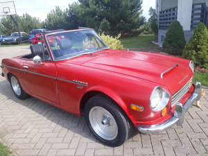 1970 Datsun Roadster 2000 from California in Lithuania
