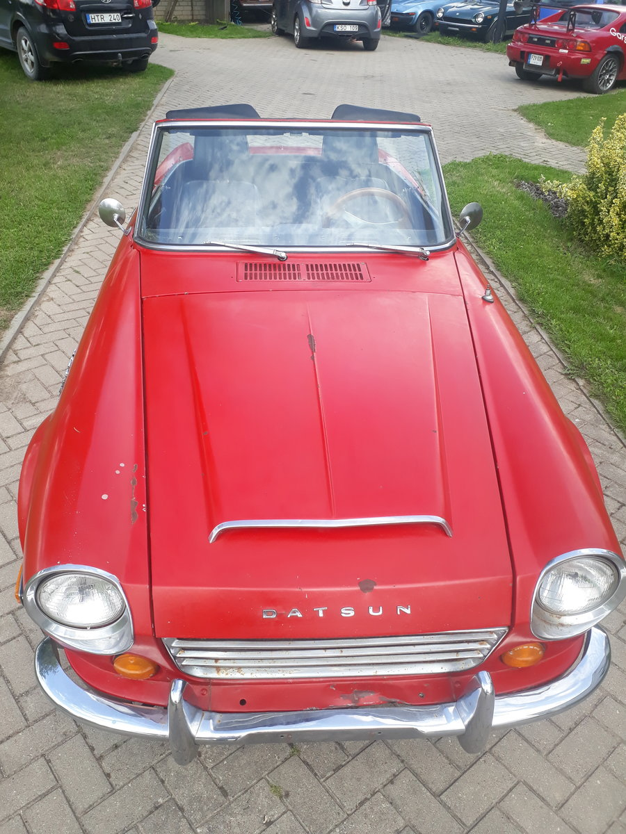 1970 Datsun Roadster 2000 from California in Lithuania For Sale (picture 3 of 6)