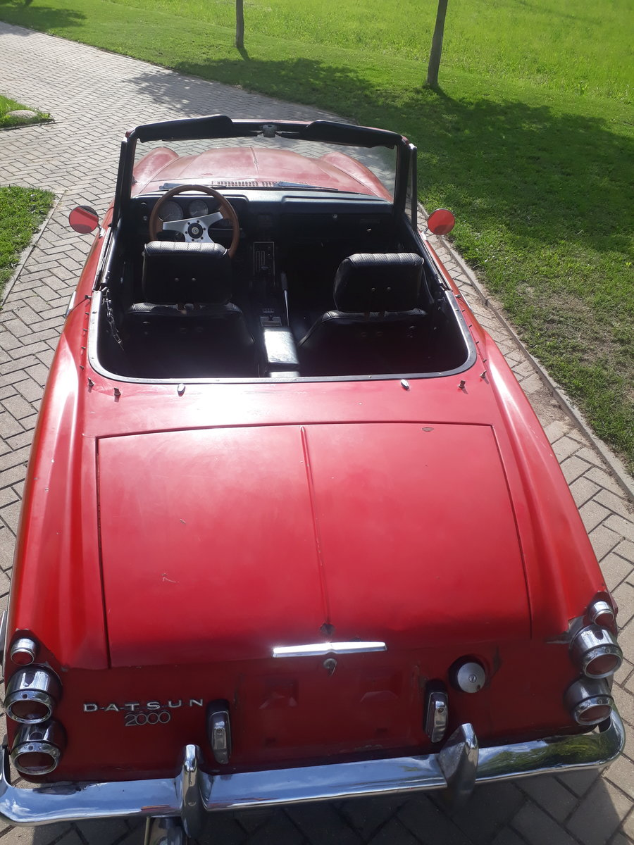 1970 Datsun Roadster 2000 from California in Lithuania For Sale (picture 4 of 6)