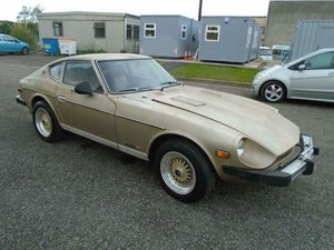 DATSUN 280Z LHD AUTO SWB COUPE(1978) MET GOLD!  For Sale