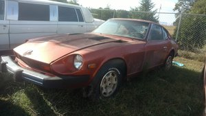 1977 Datsun 280Z Coupe = Project Solid Manual $3.5k For Sale