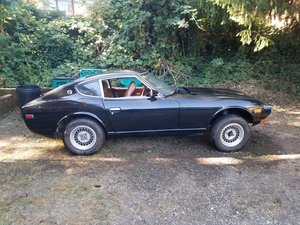 1973 Datsun 240Z '73 (black) For Sale