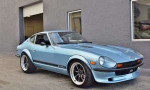1977 Datsun 280Z Fairlady Z Mods Flared 5-spd Blue $32.9k