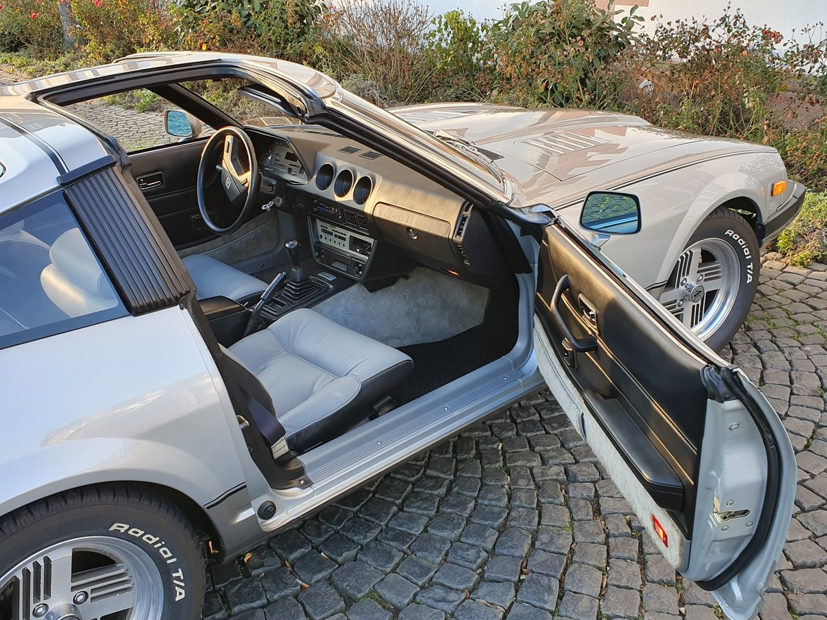 1983 Datsun ZXT Targa Turbo Leather near mint  For Sale (picture 4 of 6)
