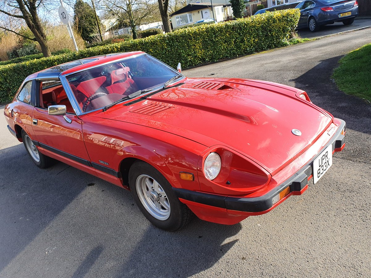 1982 Fantastic Datsun 280ZX Targa For Sale (picture 5 of 6)