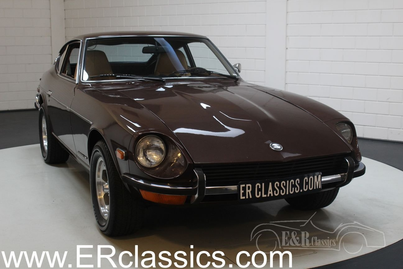 Datsun 240Z Coupé 1972 dark brown metallic For Sale (picture 1 of 6)