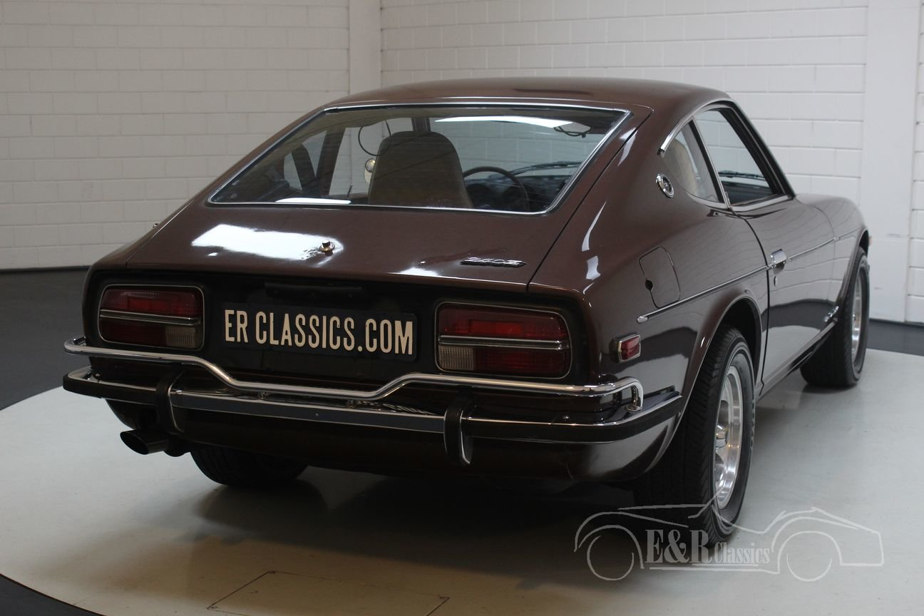 Datsun 240Z Coupé 1972 dark brown metallic For Sale (picture 6 of 6)